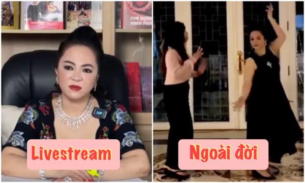 Clip: Đại gia Phương Hằng vui vẻ thể hiện khả năng vũ đạo ngoài đời, khác hẳn lúc gay gắt trên livestream - Ảnh 4.