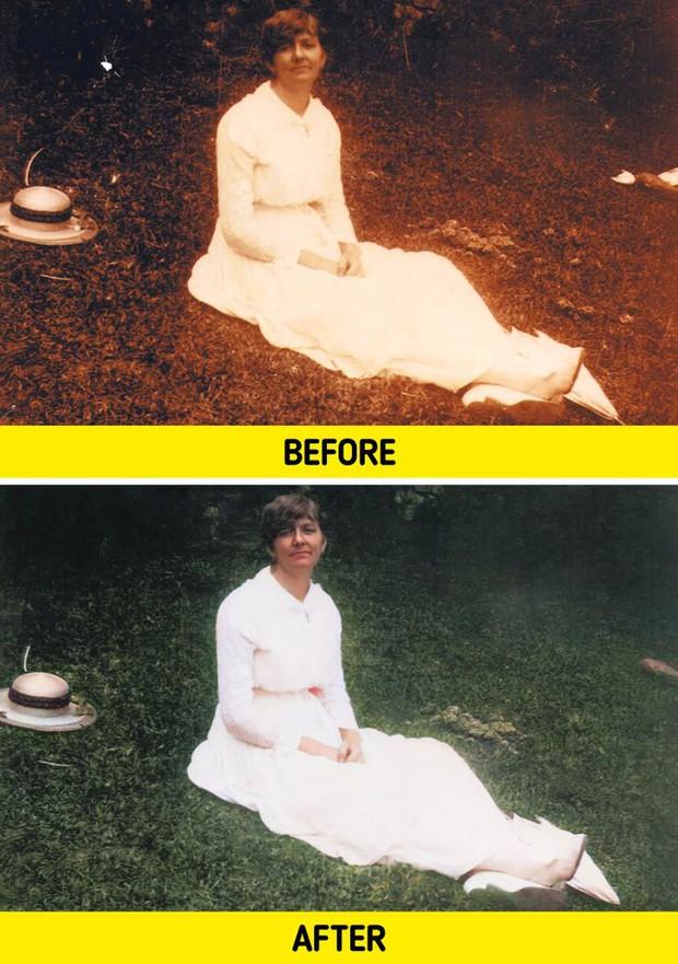 Ngắm loạt ảnh đen trắng cũ mèm sau khi được phục chế, không ngờ thêm chút màu sắc lại mang đến cảm giác thật khác biệt - Ảnh 6.