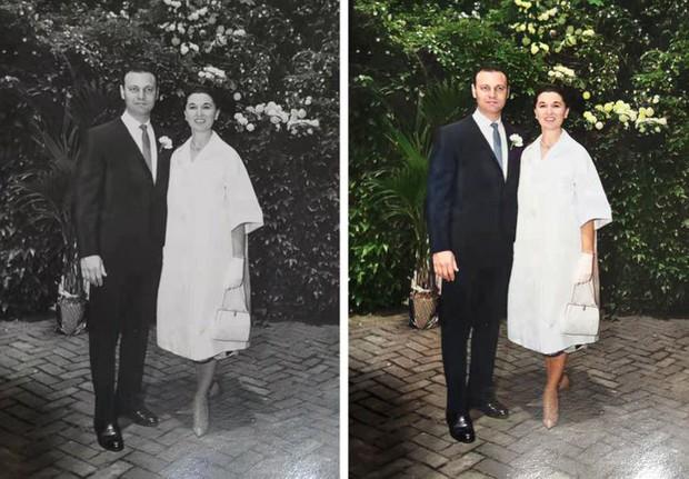 Ngắm loạt ảnh đen trắng cũ mèm sau khi được phục chế, không ngờ thêm chút màu sắc lại mang đến cảm giác thật khác biệt - Ảnh 7.