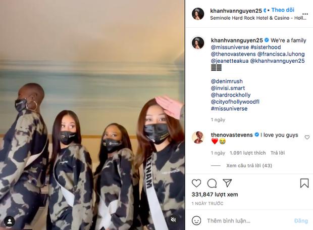 Sau 2 tuần tăng khủng, Instagram của Hoa hậu Khánh Vân cán mốc 500K follower - Ảnh 3.