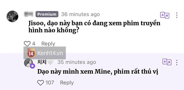 Jisoo (BLACKPINK) lộ cốt fan cứng bom tấn Mine, netizen nô nức xem phim để cheap moment với idol - Ảnh 2.