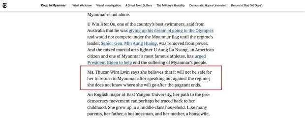 NÓNG: Rầm rộ tin Hoa hậu Myanmar bị truy nã khẩn cấp sau màn cầu cứu ở Miss Universe, thực hư ra sao? - Ảnh 6.