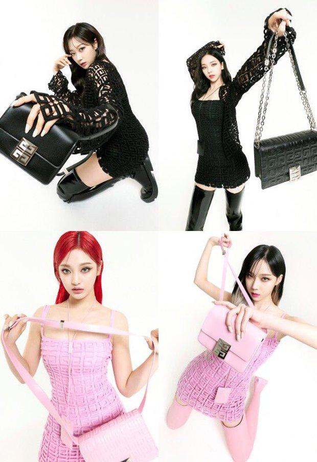 Không tin vào mắt mình khi aespa diện đồ Givenchy: Hình ảnh rối mắt, tổng thể lôm côm, tính high fashion đâu rồi? - Ảnh 3.