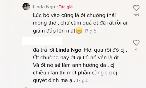 Đắp mặt nạ mắm tôm, hot TikToker Linda Ngô - Phong Đạt bị ném đá vì câu view bất chấp và lừa người xem - Ảnh 5.