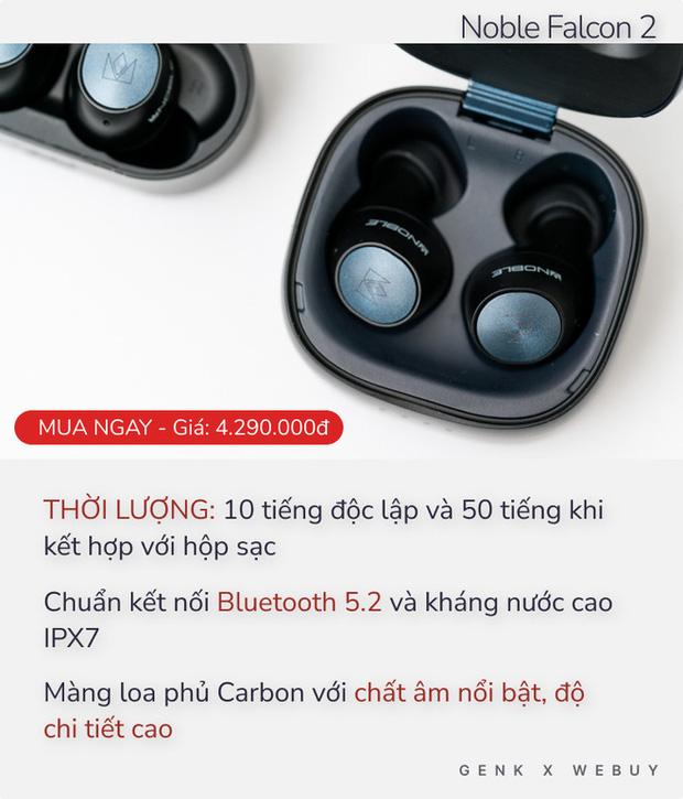 Từ 1 triệu đã có 5 option tai nghe True Wireless pin khủng, sạc 1 lần dùng cả tháng - Ảnh 2.