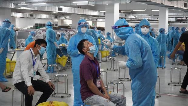 F0 tăng nhanh ở Bắc Giang, kích hoạt bệnh viện dã chiến số 2 - Ảnh 1.