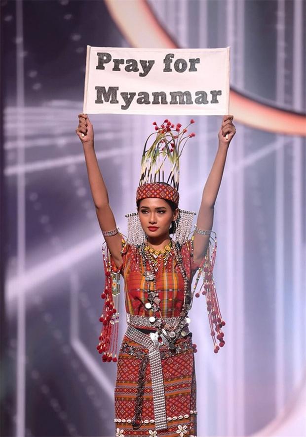 NÓNG: Rầm rộ tin Hoa hậu Myanmar bị truy nã khẩn cấp sau màn cầu cứu ở Miss Universe, thực hư ra sao? - Ảnh 3.