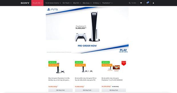 Sony mở đợt Pre-order PS5 lần thứ 2 tại Việt Nam, hết hàng chỉ trong 1 phút - Ảnh 2.