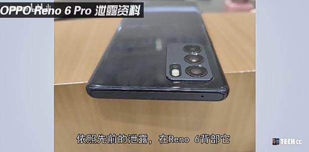 OPPO Reno6 lộ ảnh thực tế với khung viền vuông như iPhone 12 - Ảnh 1.