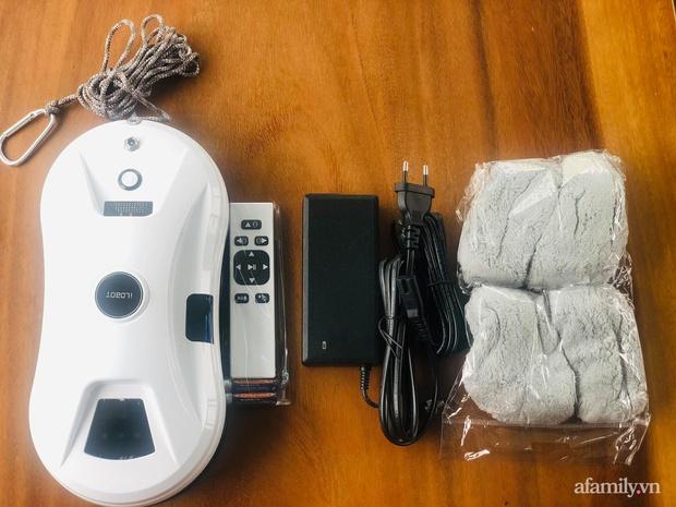 Bỏ 3 triệu đặt mua robot lau kính tự động, mẹ Hà Nội khoái chí vì vớ được sản phẩm đỉnh của chóp - Ảnh 1.