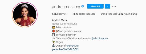 Instagram của bạn thế nào khi thành Miss Universe, tân Hoa hậu người Mexico vừa bật mí nhìn mà hoa mắt chóng mặt - Ảnh 4.