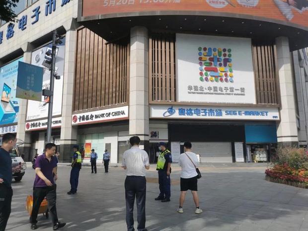 Tòa nhà chọc trời ở Trung Quốc rung lắc dù không có động đất - Ảnh 1.