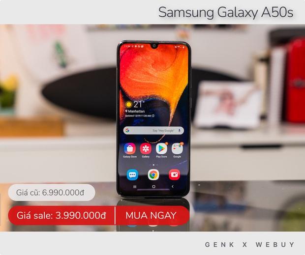 Tầm dưới 5 triệu đang có hàng tá deal điện thoại siêu ngon, có máy giảm tới 3 triệu - Ảnh 2.