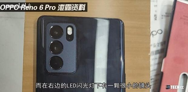 OPPO Reno6 lộ ảnh thực tế với khung viền vuông như iPhone 12 - Ảnh 4.