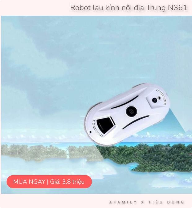 Bỏ 3 triệu đặt mua robot lau kính tự động, mẹ Hà Nội khoái chí vì vớ được sản phẩm đỉnh của chóp - Ảnh 7.