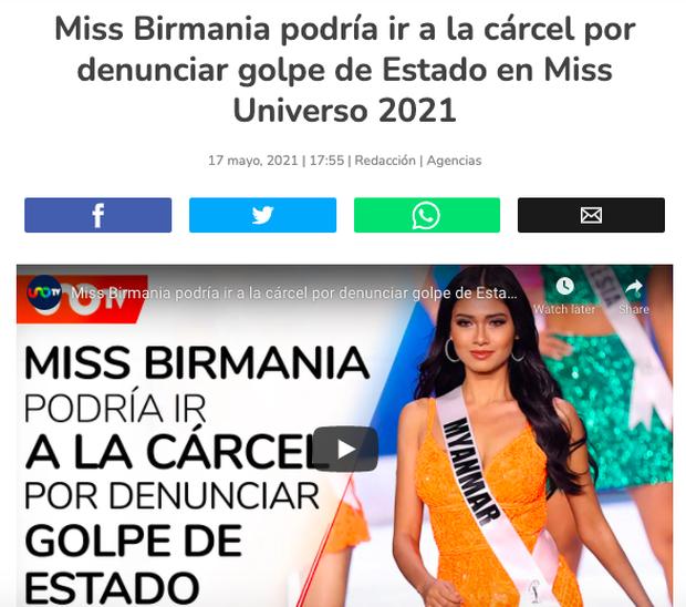 NÓNG: Rầm rộ tin Hoa hậu Myanmar bị truy nã khẩn cấp sau màn cầu cứu ở Miss Universe, thực hư ra sao? - Ảnh 7.