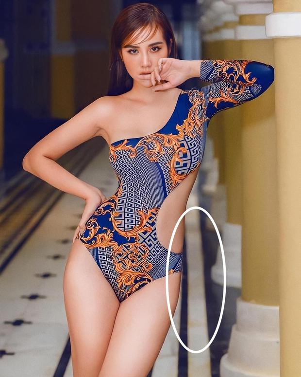 Huyền Lizzie đăng ảnh bikini khoe trọn thân hình gợi cảm, netizen chỉ chú ý đến chi tiết gạch bị méo - Ảnh 4.