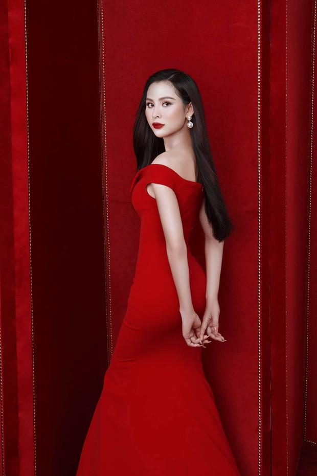 Trân Đài khoe nhan sắc rực rỡ, được kỳ vọng nối tiếp thành tích của Khánh Vân ở quốc tế - Ảnh 6.