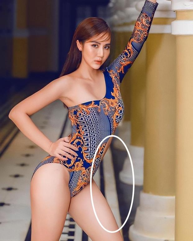 Huyền Lizzie đăng ảnh bikini khoe trọn thân hình gợi cảm, netizen chỉ chú ý đến chi tiết gạch bị méo - Ảnh 3.