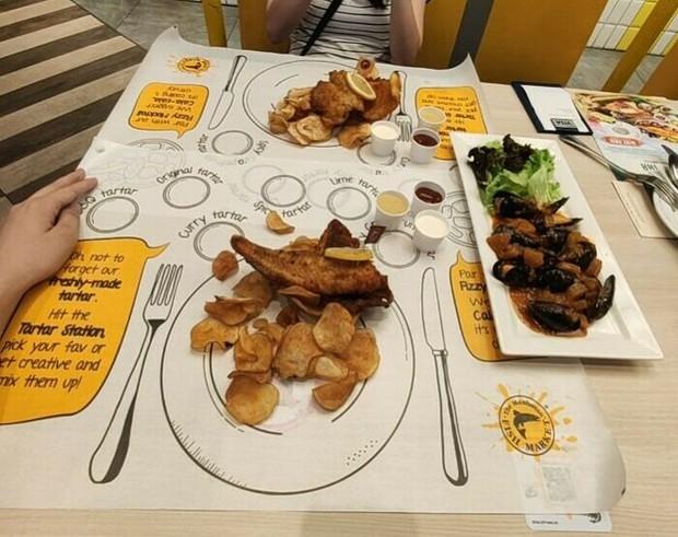 25 màn bày biện đồ ăn siêu cồng kềnh của nhà hàng, thực khách nhìn xong muốn buông đũa đi về tự nấu cơm cho gọn - Ảnh 9.