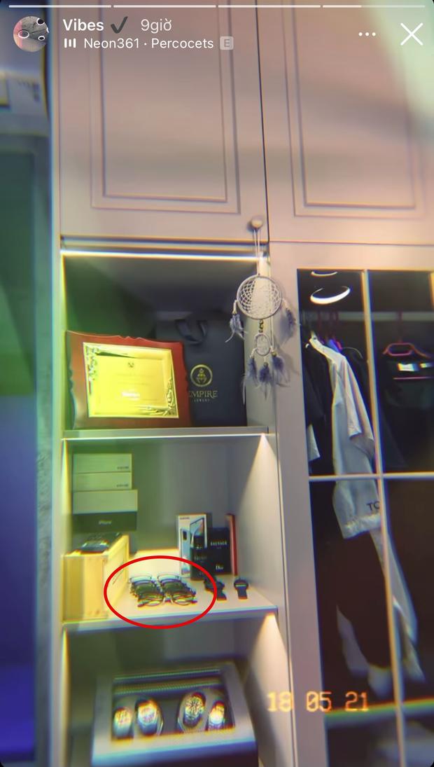 """Matt Liuu đăng story khoe phòng thử đồ, đập tan tin đồn """"chỉ có một chiếc kính"""" - Ảnh 2."""