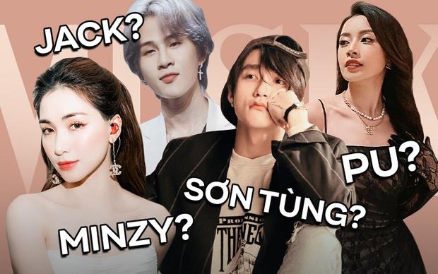 Sự thật phía sau nghệ danh ca sĩ Vpop: Sơn Tùng - Jack lựa tên rất ý nghĩa, Erik bốc đại còn Hoà Minzy chuẩn fan Kpop! - Ảnh 1.