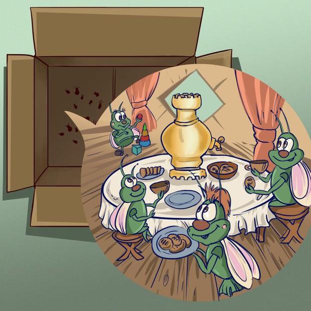 8 sai sót khiến côn trùng làm tổ trong nhà bạn, đuổi mãi cũng không hết - Ảnh 4.