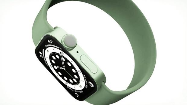 Apple Watch Series 7 có thể sở hữu các cạnh phẳng cùng tùy chọn màu xanh lá cây - Ảnh 1.