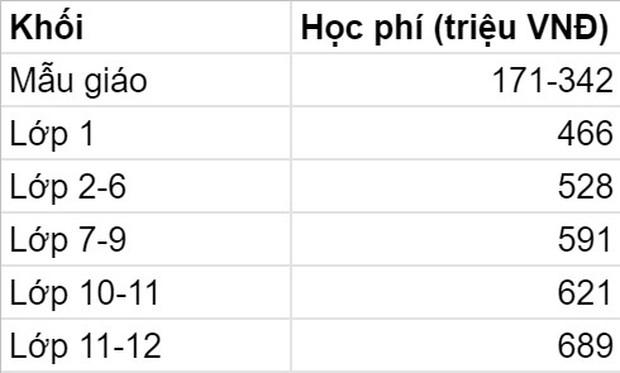 5 trường quốc tế có mức học phí 2021-2022 cao ngất ngưởng tại TP. HCM: Phụ huynh phải trả trên dưới nửa tỷ đồng cho con đi học lớp 1  - Ảnh 8.