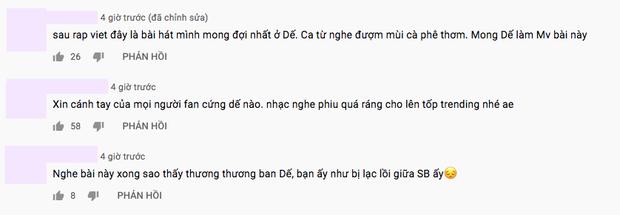 Dế Choắt âm thầm ra audio bài mới: Rhymastic rất ưng, fan nghe xong lại thấy Quán quân Rap Việt như bị lạc lối trong showbiz? - Ảnh 5.