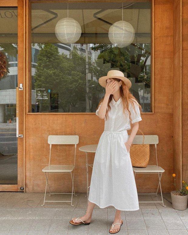 Các quý cô sành điệu đang rần rần diện đồ màu trắng, bạn còn chờ gì mà không bắt trend đi chơi hè - Ảnh 4.
