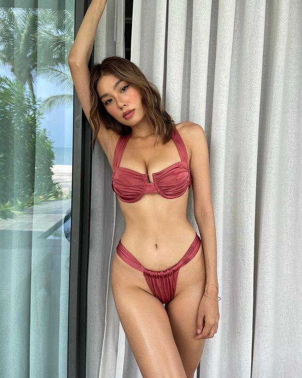 Có 1 kiểu bikini chỉ bé bằng 2 bàn tay của em đây em múa cho mẹ xem nhưng từ netizen tới sao Việt đều diện - Ảnh 6.