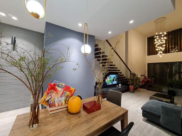 Không mua chung cư, vợ chồng 9x xây nhà 3 tầng với chi phí gần 3,4 tỷ, ai cũng bất ngờ với cánh cửa bí mật ở gác lửng - Ảnh 5.