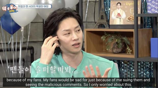 Kim Heechul tiết lộ lý do không bao giờ phản bác antifan suốt nhiều năm qua? - Ảnh 1.