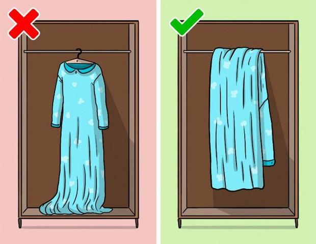 Mắc phải 9 sai lầm khi sắp xếp tủ đồ này, quần áo dù yêu thích đến mấy cũng sẽ sớm bị hỏng - Ảnh 5.