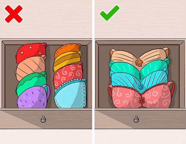 Mắc phải 9 sai lầm khi sắp xếp tủ đồ này, quần áo dù yêu thích đến mấy cũng sẽ sớm bị hỏng - Ảnh 7.