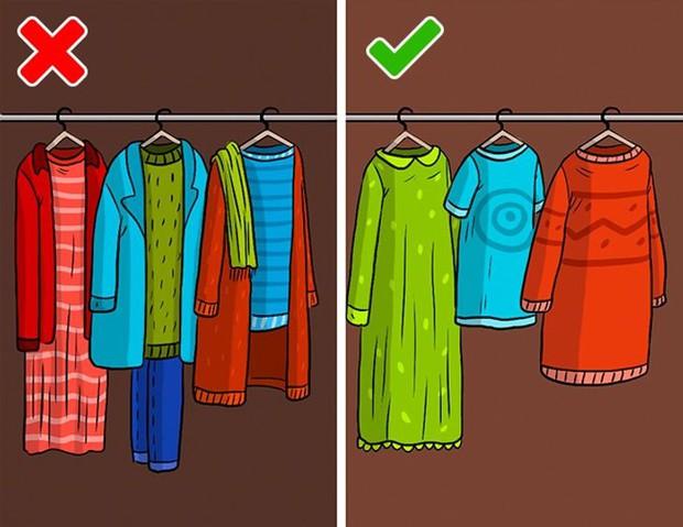 Mắc phải 9 sai lầm khi sắp xếp tủ đồ này, quần áo dù yêu thích đến mấy cũng sẽ sớm bị hỏng - Ảnh 8.