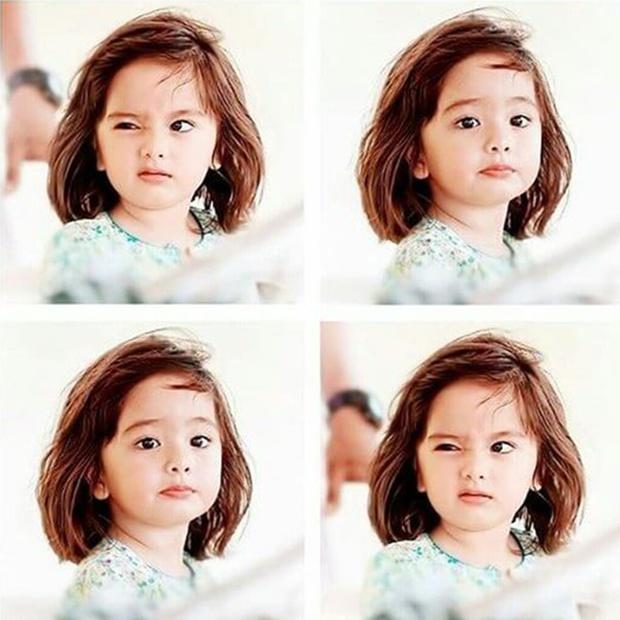 Tiểu công chúa Malaysia xinh xắn hết nấc nhưng biểu cảm có 1-0-2 của bé mới là điều đốn tim người xem - Ảnh 3.