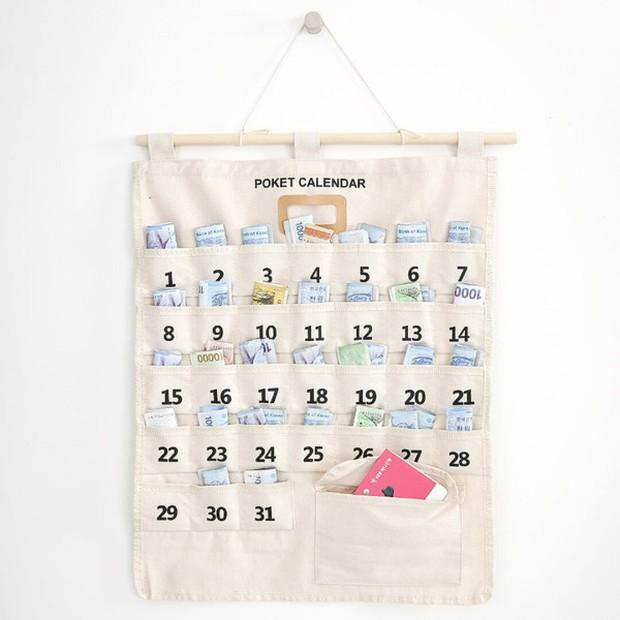 Phụ nữ Hàn Quốc thích dùng lịch tiết kiệm, vừa xinh xắn lại còn dành dụm được số tiền đáng kể - Ảnh 5.
