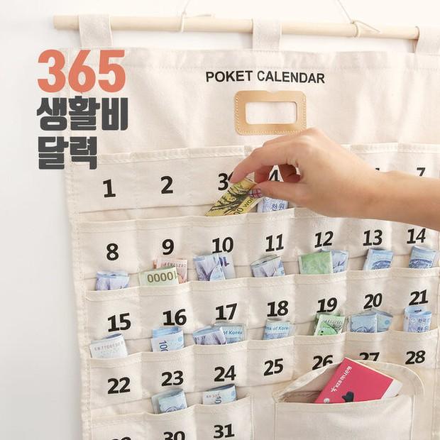 Phụ nữ Hàn Quốc thích dùng lịch tiết kiệm, vừa xinh xắn lại còn dành dụm được số tiền đáng kể - Ảnh 6.