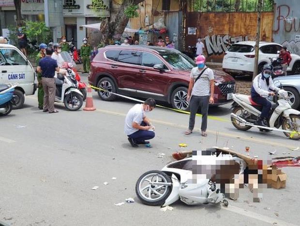 Hà Nội: Va chạm với xe tải, nữ sinh ngồi sau xe máy tử vong thương tâm - Ảnh 1.