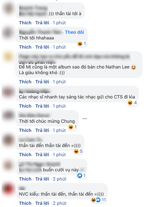 Nathan Lee tuyên bố mua loạt hit, netizen tràn vào chúc mừng NS Nguyễn Văn Chung đã trả hết nợ cho mẹ: Thần tài đến rồi! - Ảnh 4.