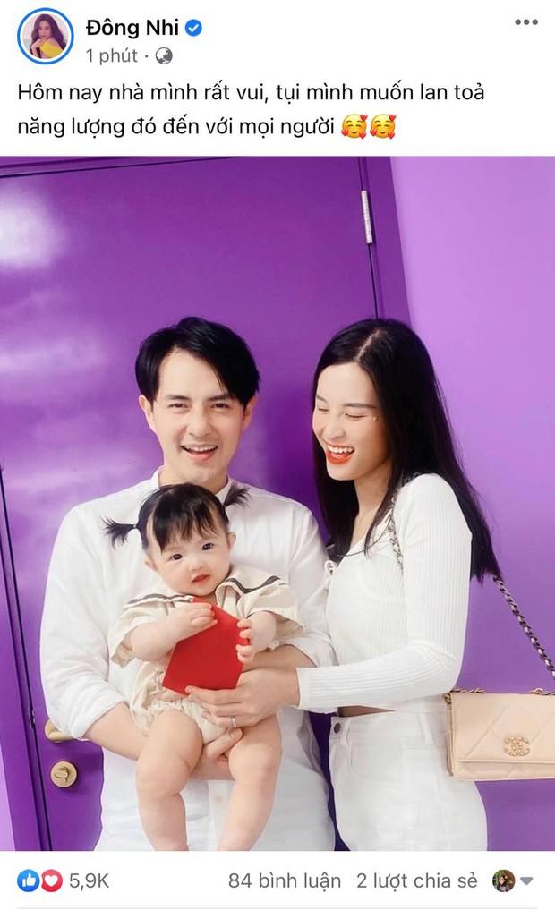 Gia đình Đông Nhi đu trend lan toả năng lượng giống Phan Mạnh Quỳnh và cú plot twist khiến dân tình dậy sóng - Ảnh 2.