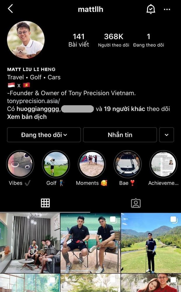 Matt Liu âm thầm đổi bio Instagram, thẳng tay xoá định mệnh tình yêu liên quan đến Hương Giang - Ảnh 2.