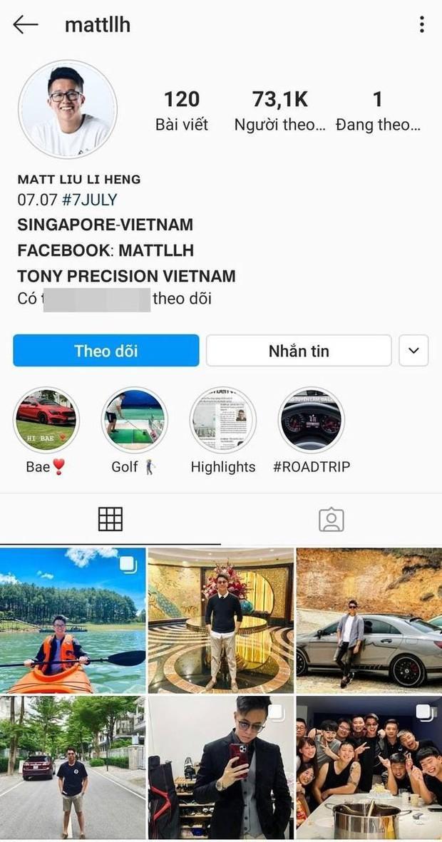 Matt Liu âm thầm đổi bio Instagram, thẳng tay xoá định mệnh tình yêu liên quan đến Hương Giang - Ảnh 3.