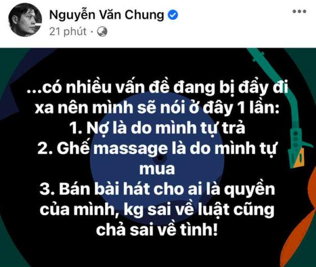 NS Nguyễn Văn Chung đã lên tiếng làm rõ tin bán hit độc quyền cho Nathan Lee, còn vụ trả nợ và nuôi mẹ thì sao? - Ảnh 2.