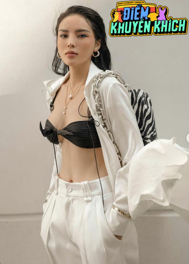 Hoa hậu Kỳ Duyên diện chiếc bra như lơ lửng giữa toà thiên nhiên ngồn ngộn - Ảnh 5.