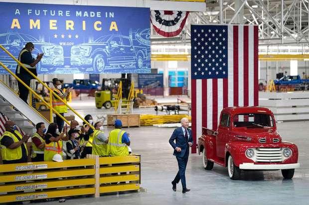 """Tổng thống Biden: """"Tương lai của công nghiệp ô tô là xe điện"""" - Ảnh 2."""