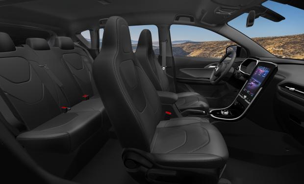 Cận cảnh nội thất trong ô tô điện VinFast VF e34 và hệ thống điều hòa lọc cả bụi mịn - Ảnh 1.