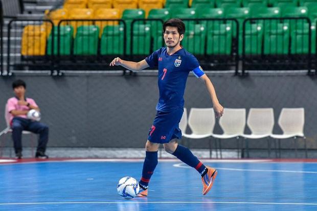 Futsal Thái Lan dội bom bàn thắng vào lưới Iraq ở trận tranh vé đi World Cup - Ảnh 1.